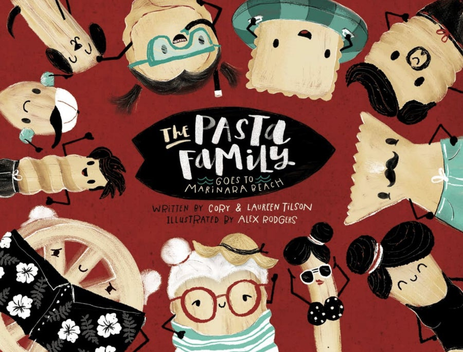 Image of The Pasta Family Children's Book