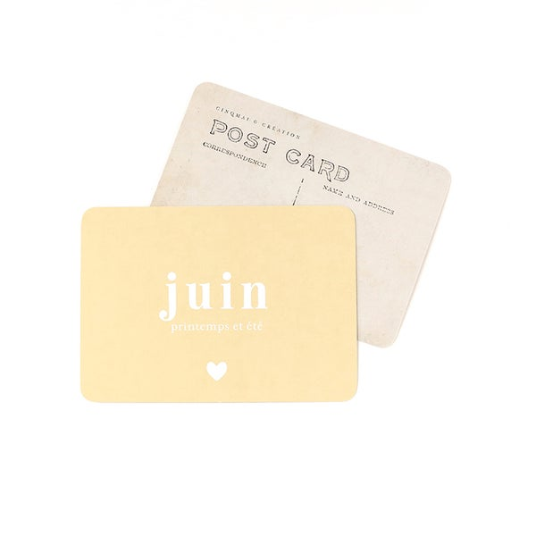Image of Carte Postale JUIN