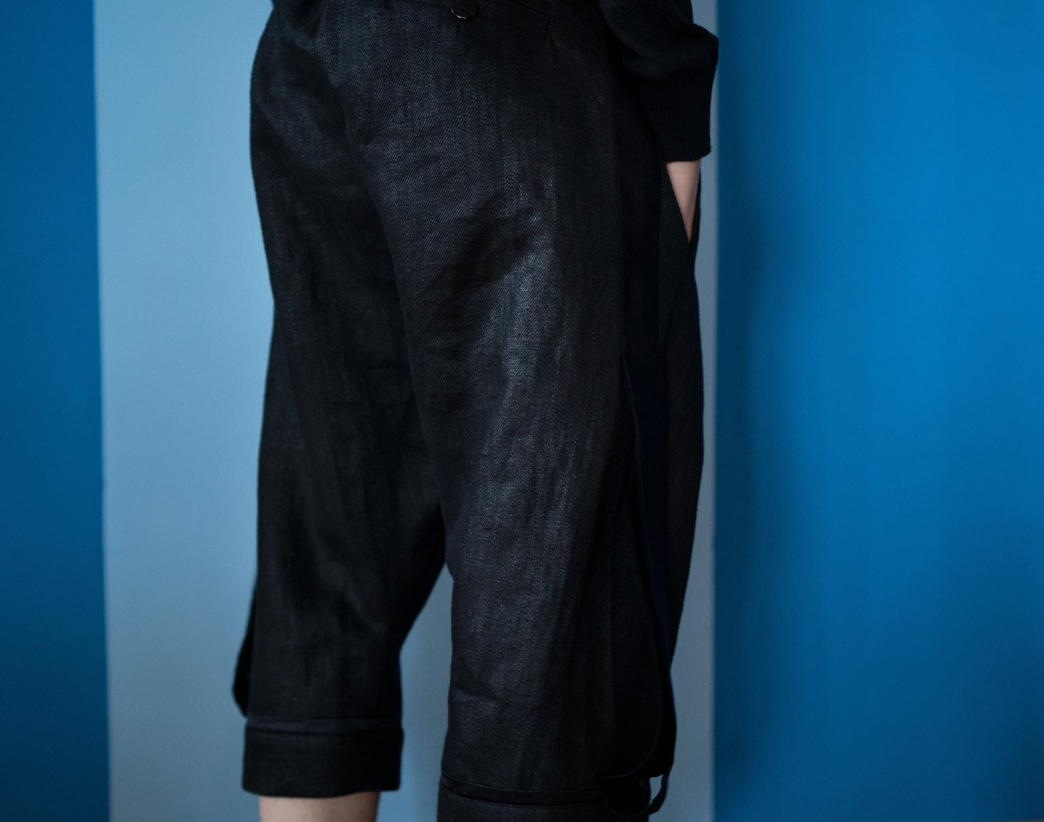 Image of Black trousers