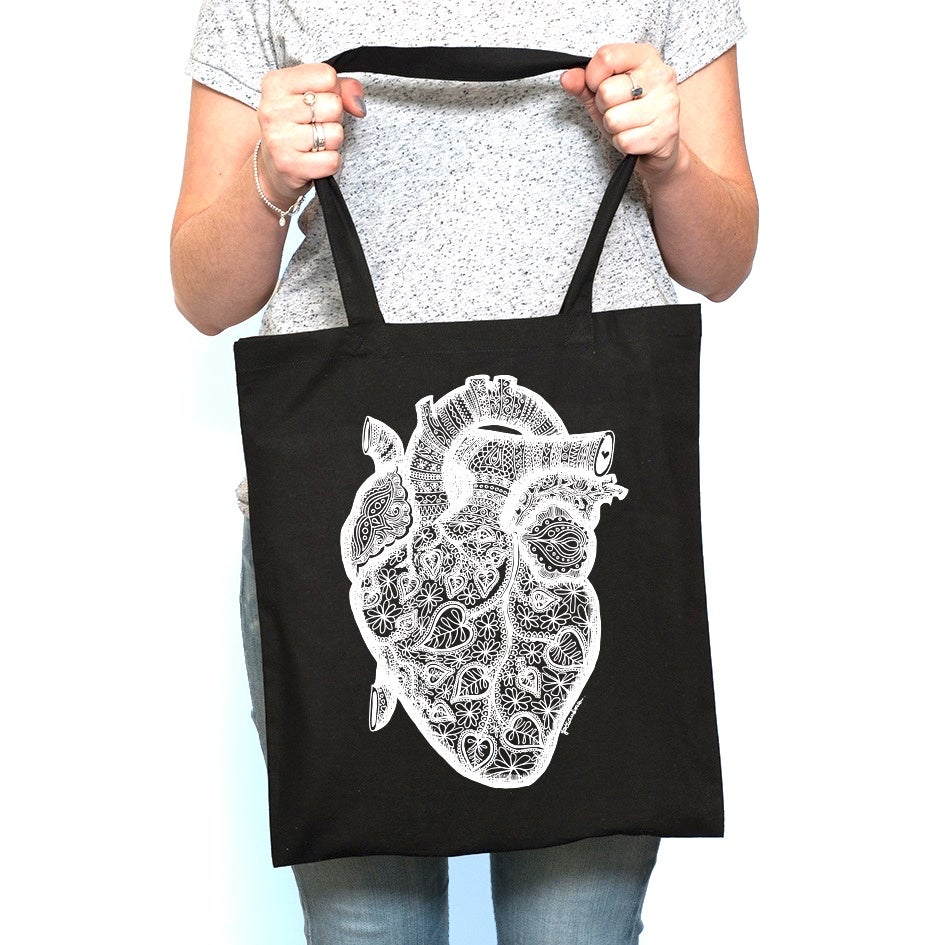 Image of Anatomy of Love Textile Bag