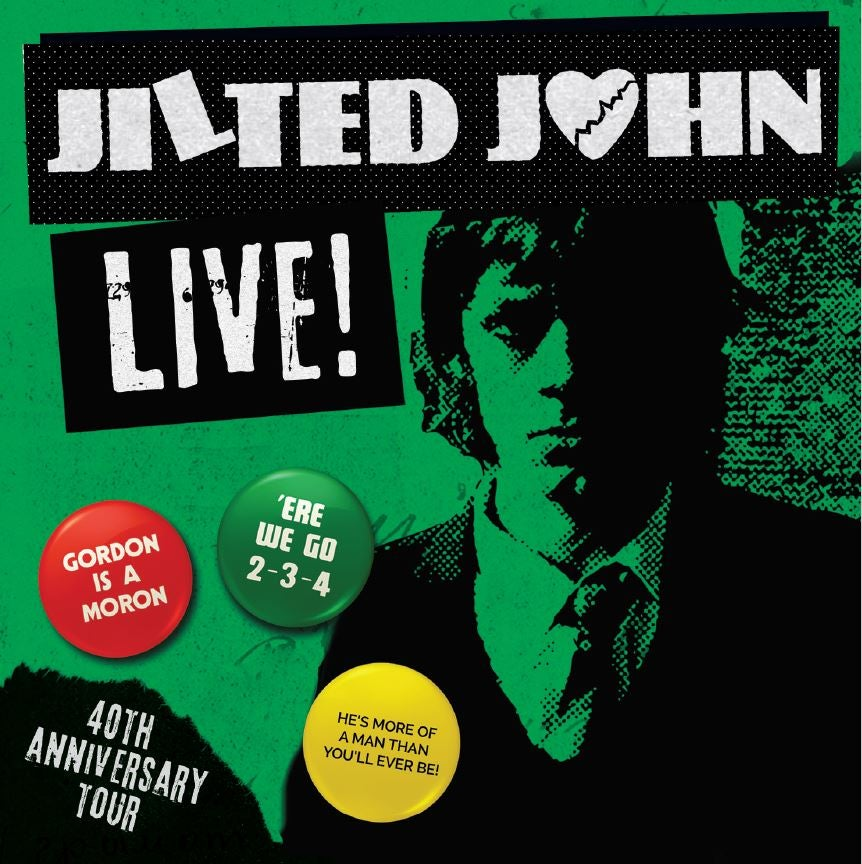Image of JILTED JOHN - LIVE ! CD