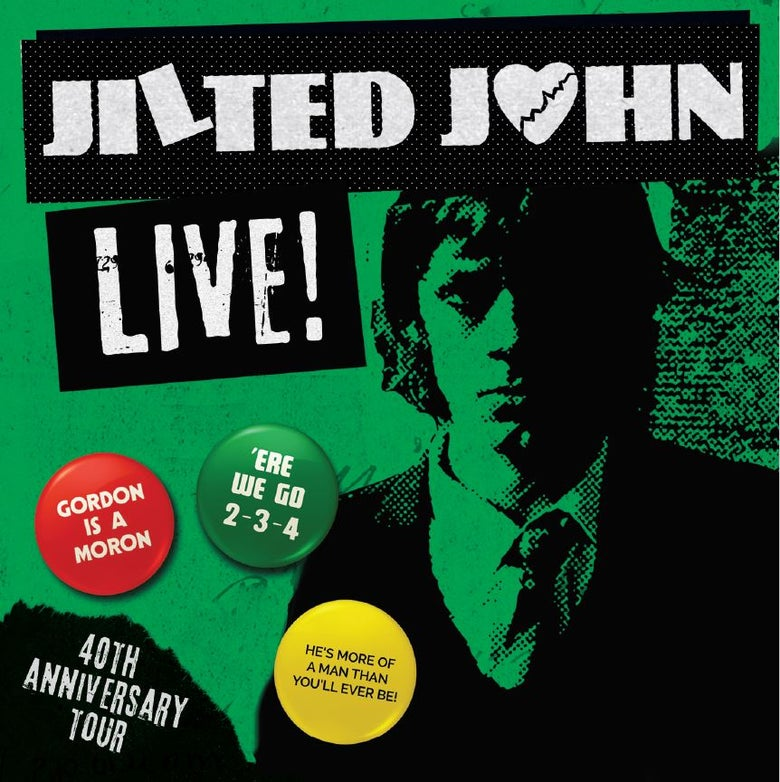 Image of JILTED JOHN - LIVE ! CD