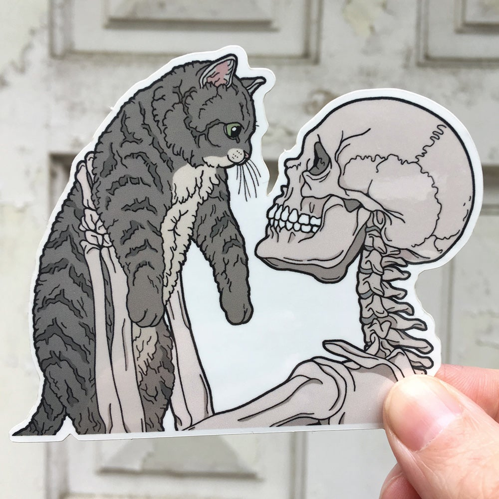 Image of Cat friend sticker