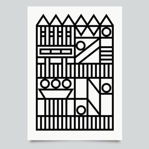 Image of Hayward Brutal print