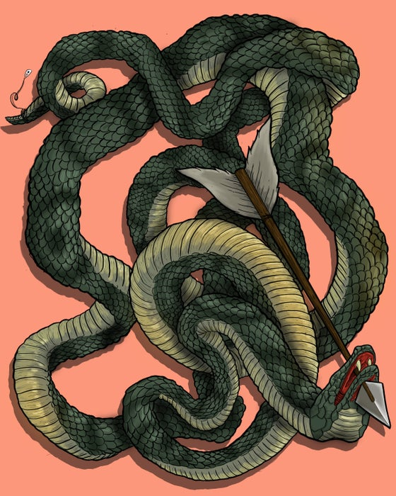 Image of Dying Serpent