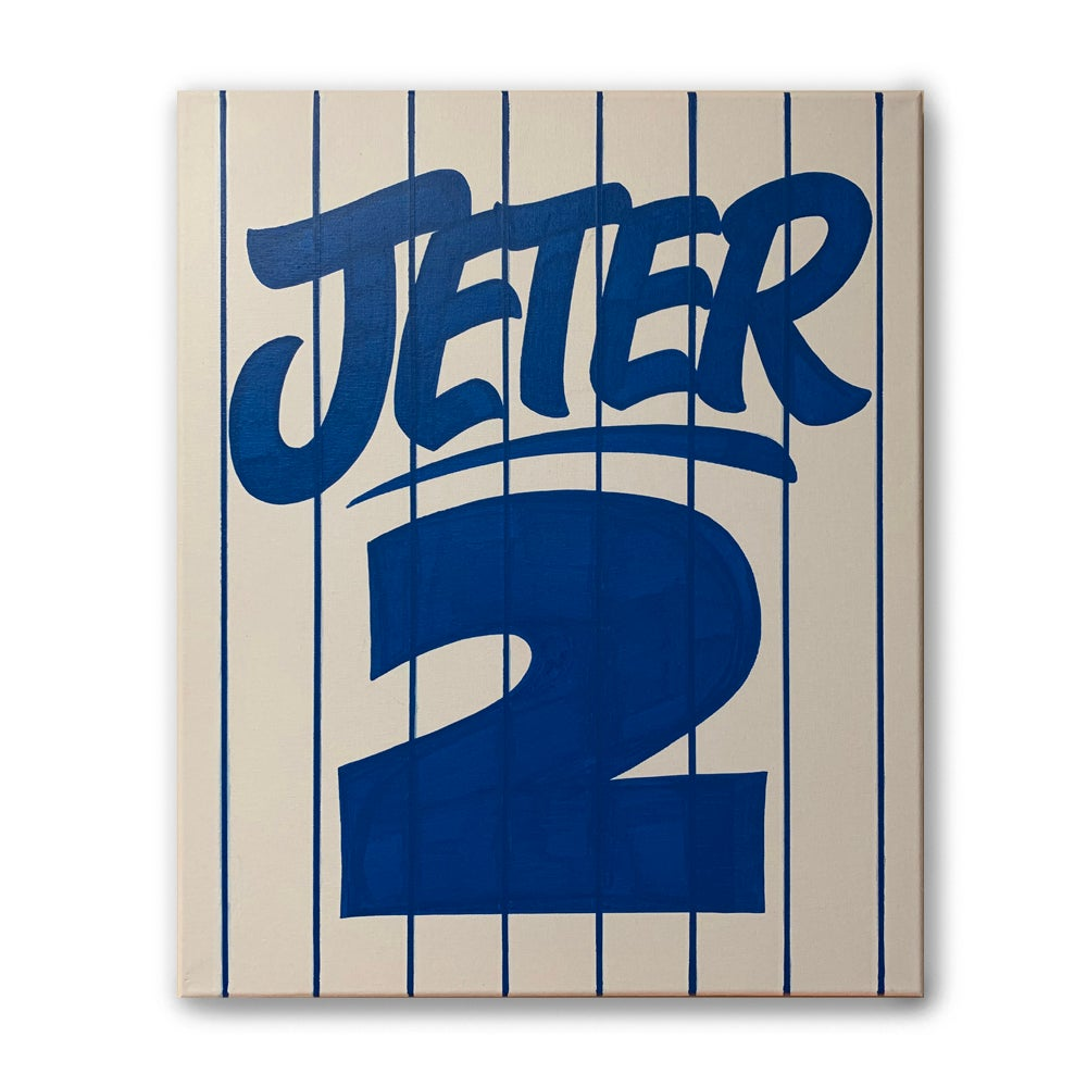 "Image of 16"" x 20"" - Jeter 2"
