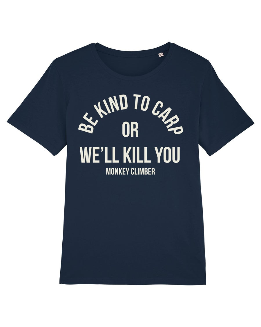 Image of Monkey Climber Kindred shirt I Navy Blue