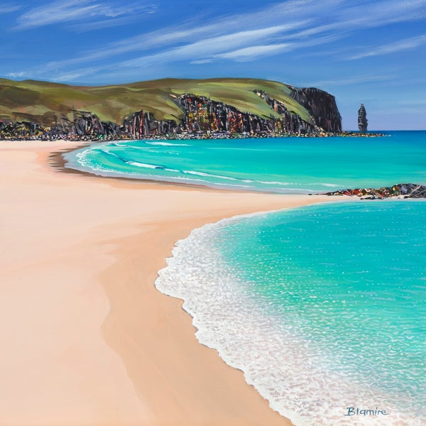 Image of Sandwood Bay giclée print