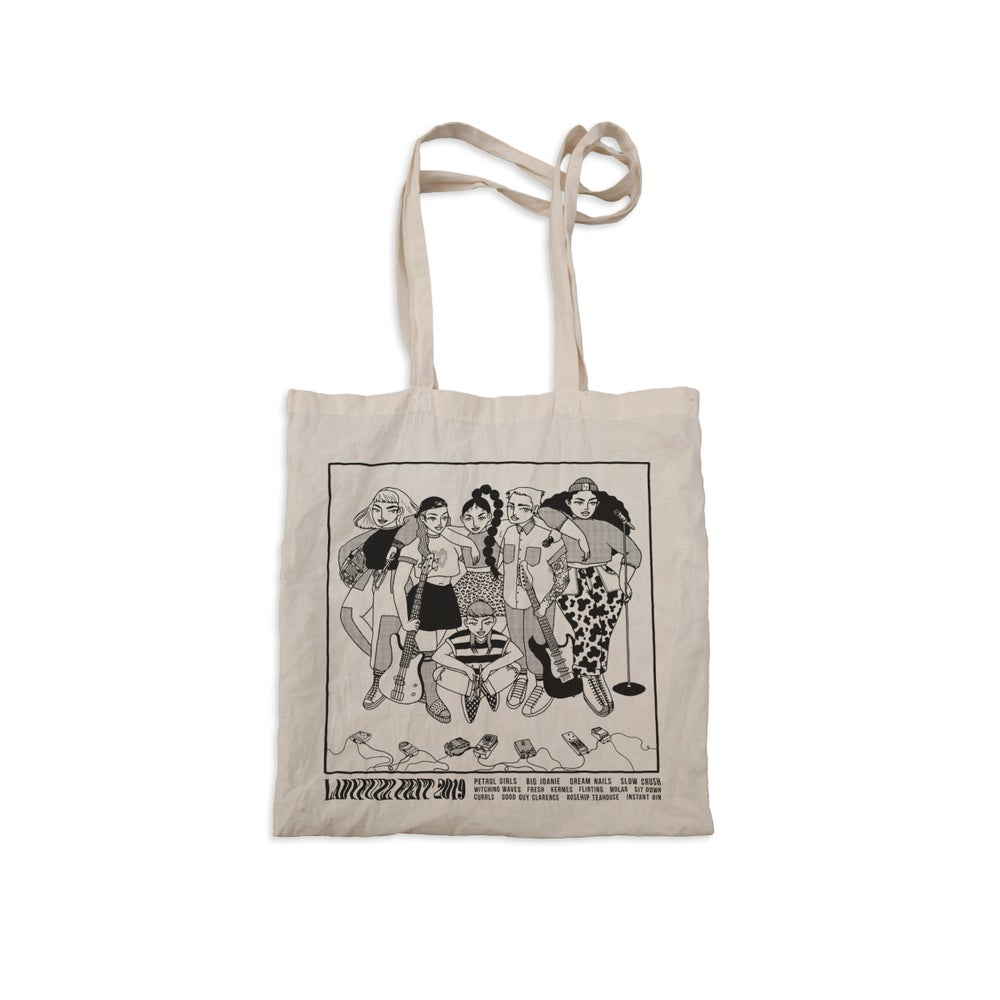 Image of Ladyfuzz Fest Tote