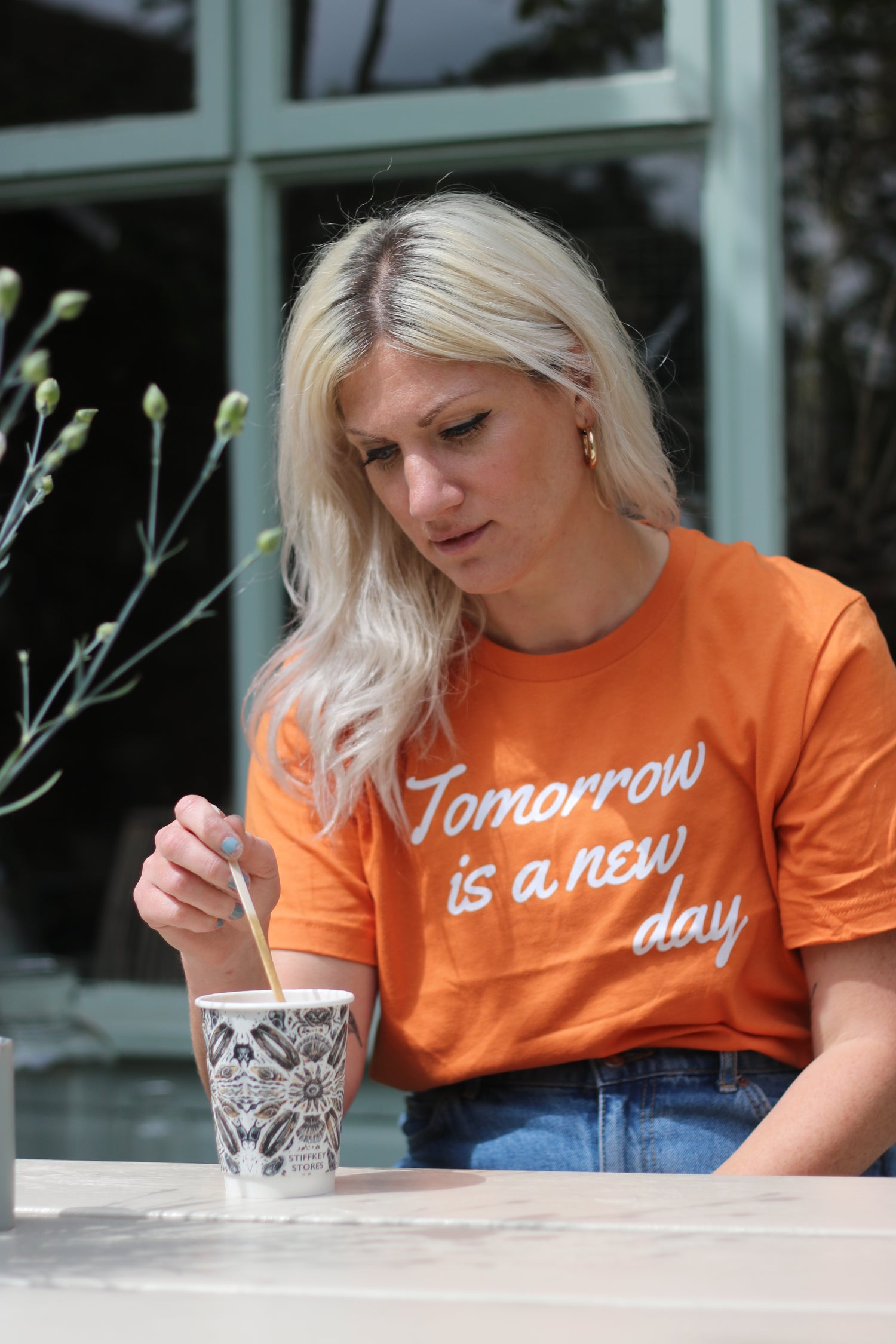 Image of Tomorrow is a new day tshirt