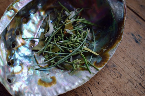 Image of Stress Relief Loose Incense | loose smudge | stress relief smudge | forest bathing incense | pinon,