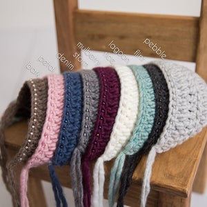 Image of Chunky Beaded Bonnet