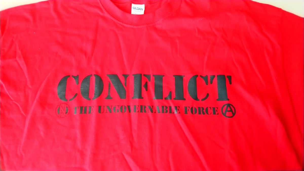 Image of Ungovernable Force Red Tshirt