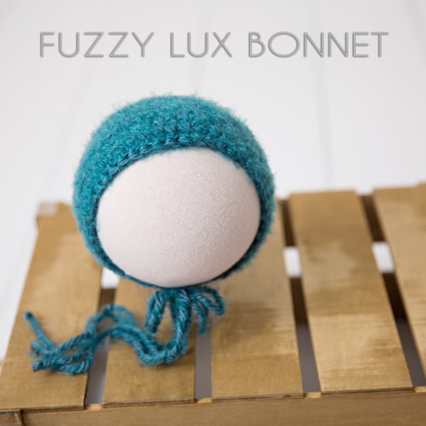 Image of Fuzzy Lux Bonnet