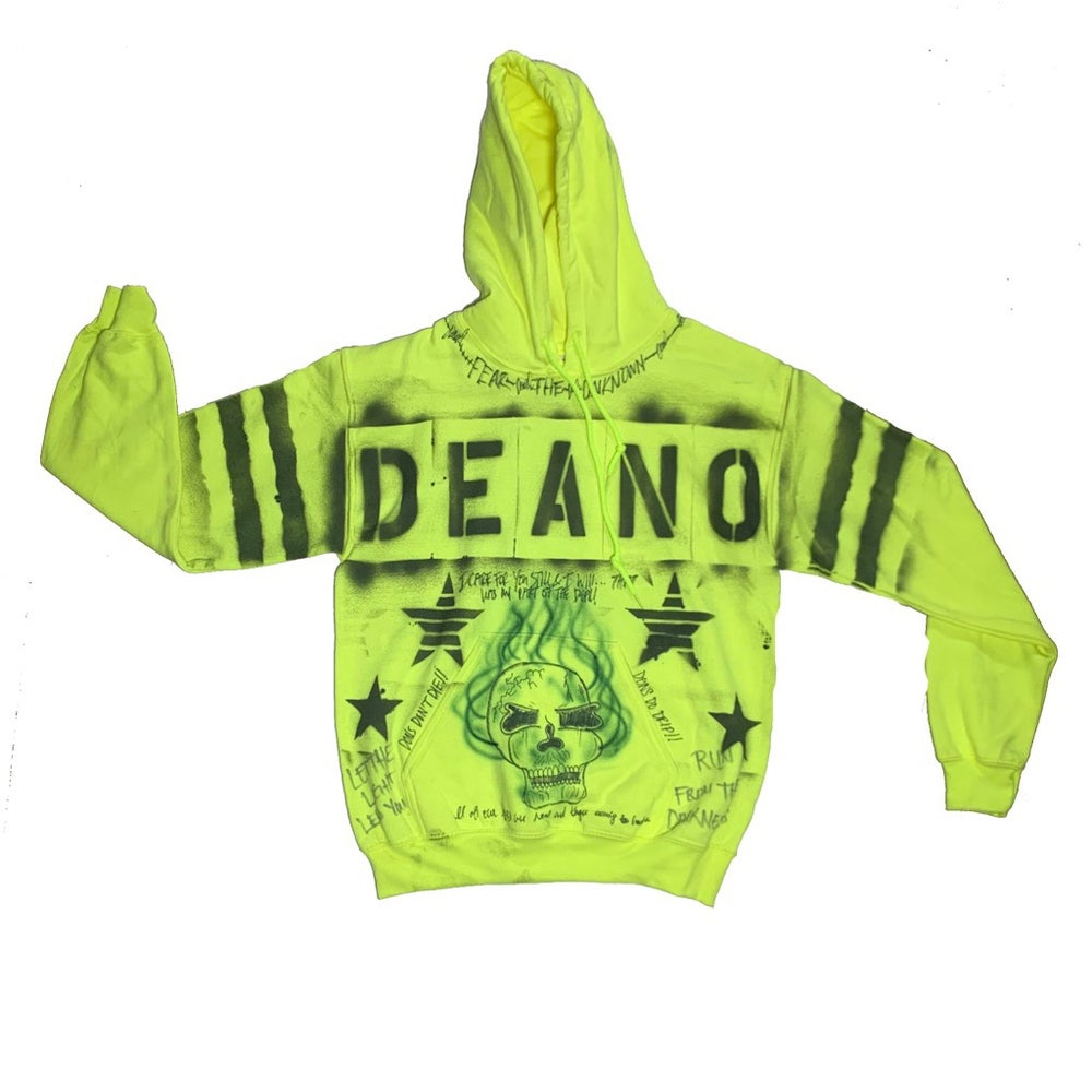 "Image of Slime ""Stamped"" Bad Ending Hoodie"