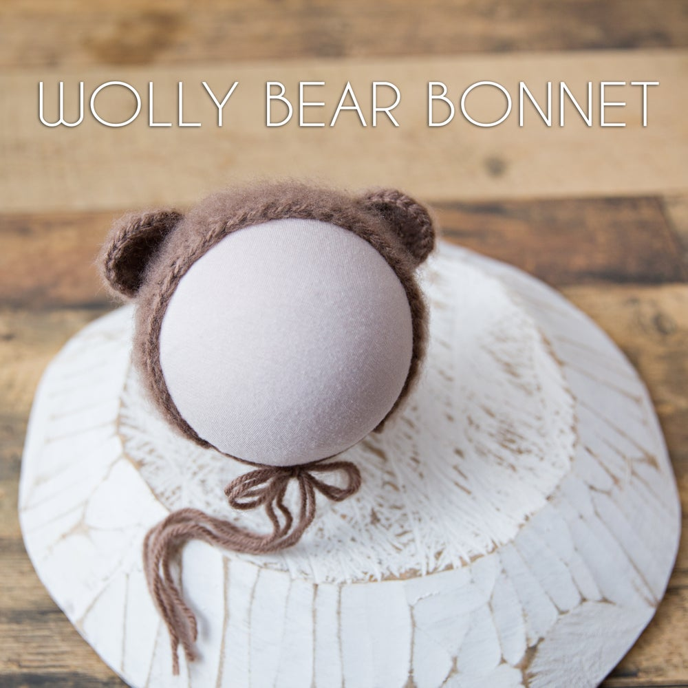 Image of Wolly Bear Bonnet
