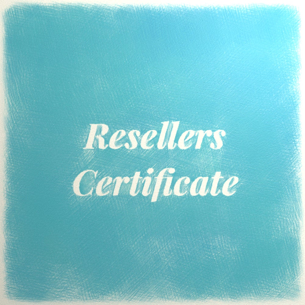 Image of Resellers Certificate
