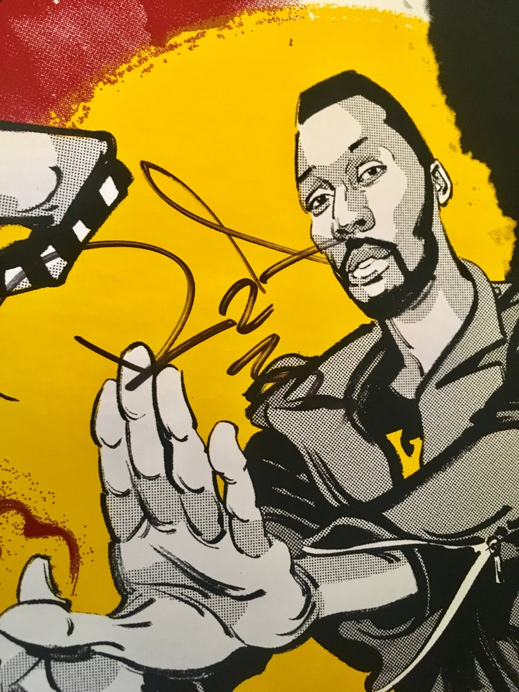 Image of **Signed** RZA: Live from the 36th Chamber Poster