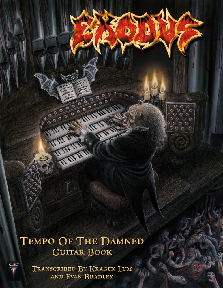 Image of Exodus - Tempo Of The Damned Guitar Book (Print Edition + Digital Copy)