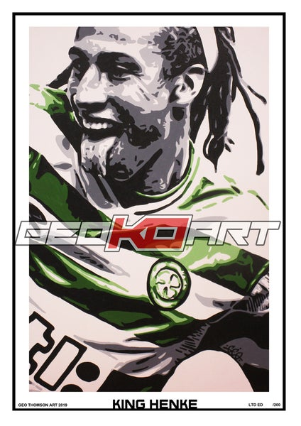 Image of HENRIK LARSSON - KING HENKE