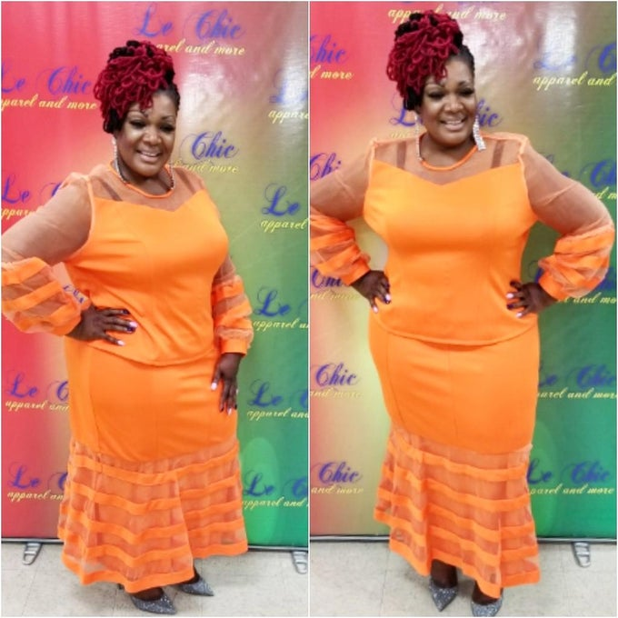Image of Miss Tangerine  two piece set
