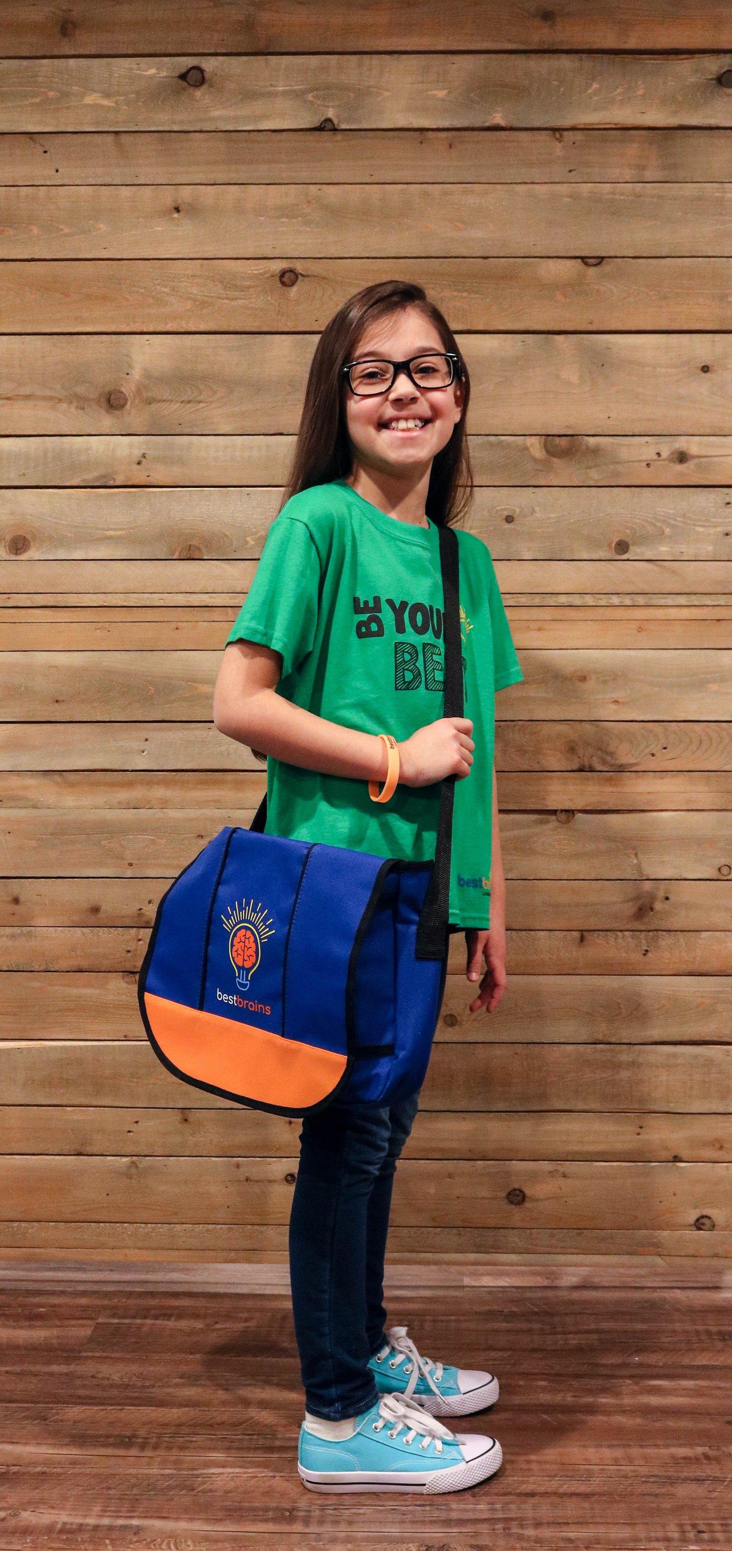 Image of Best Brains Messenger Bag