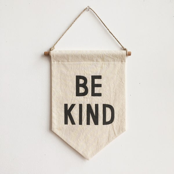 Image of BE KIND Banner / small, printed