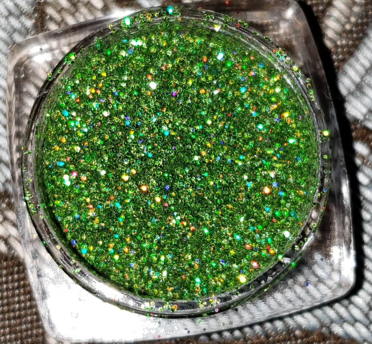 Image of Beautified Glitz Loose- MuLa (Light Green)