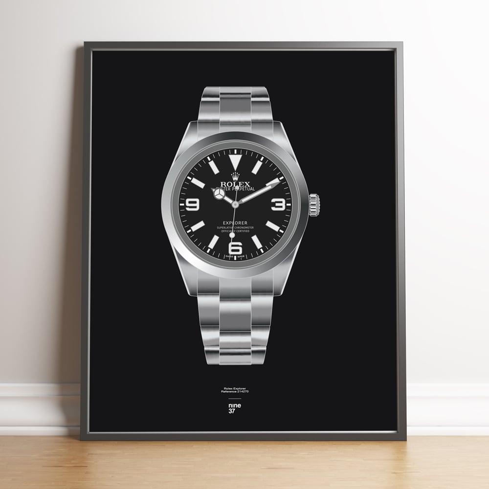 Image of Rolex Explorer 214270 Bracelet Print