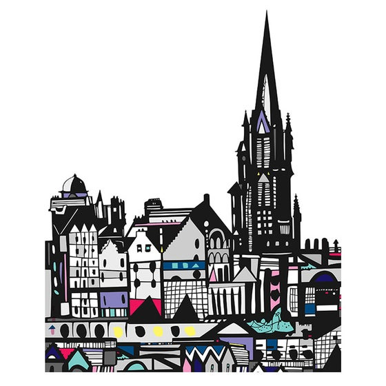 Image of The Hub, Edinburgh DIGITAL PRINT