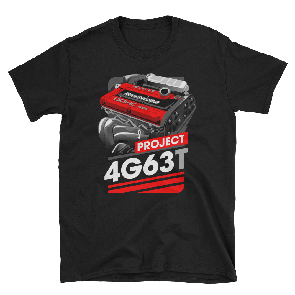 Image of PROJECT 4G63T | BLACK/RED