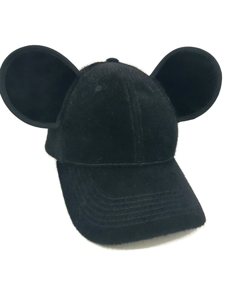 Image of Mickey Mouse Ears Furry Snapback