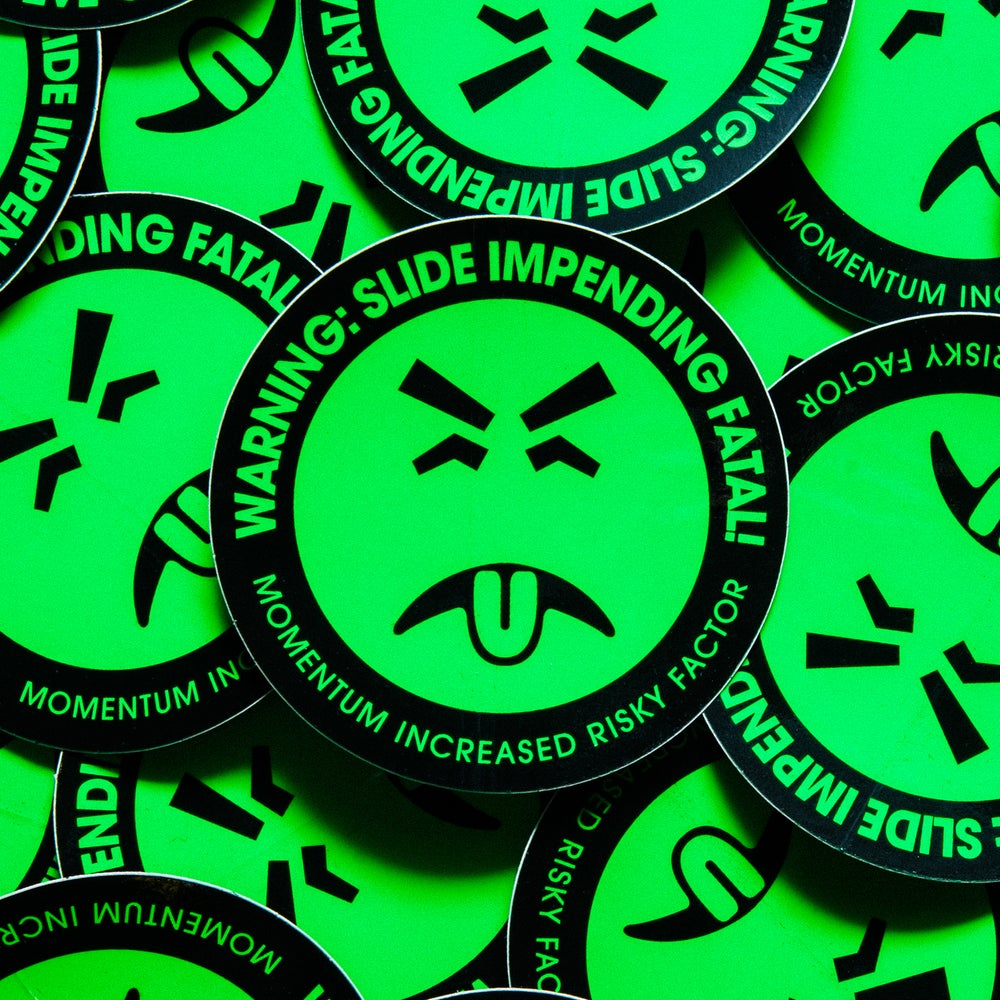Image of Mr. Yuk Sticker