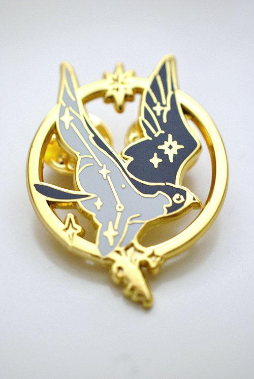 Image of 【Cut Time】First Flight enamel pin