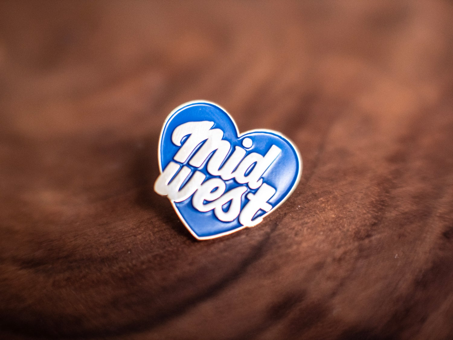 Image of Midwest Heart Enamel Pin