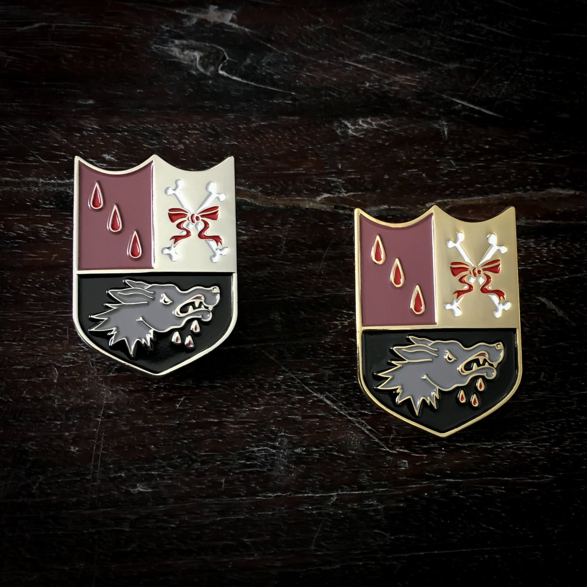 Image of Red Riding Hood's Coat of Arms pin