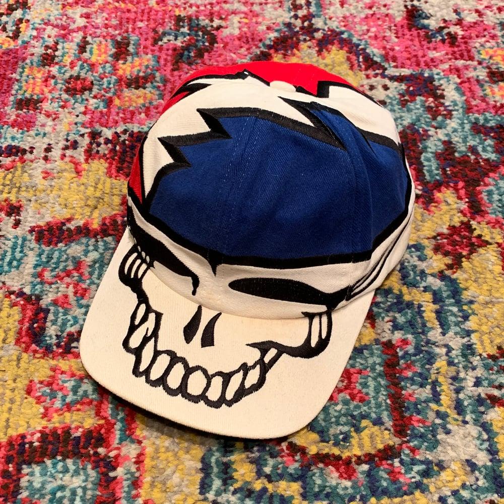 Image of Vintage 1996 Grateful Dead Liquid Blue SYF Hat!