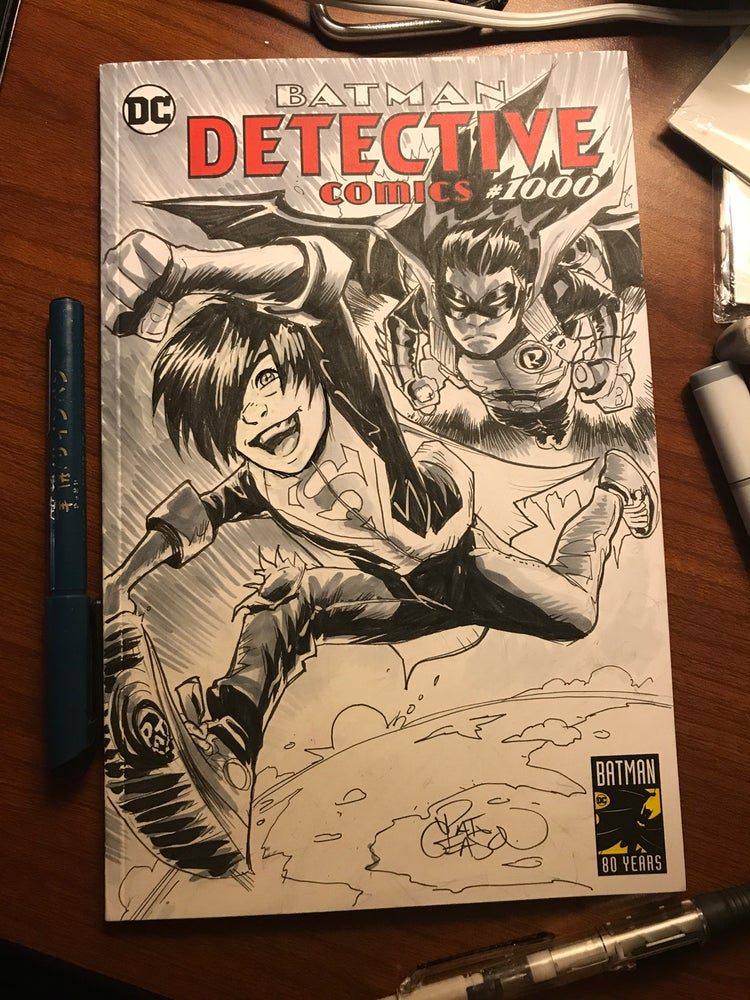 Image of Super Sons!  Jon and Damian, Detective Comics 1000
