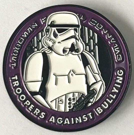 "Image of Troopers Against Bullying 1.75"" Coin"