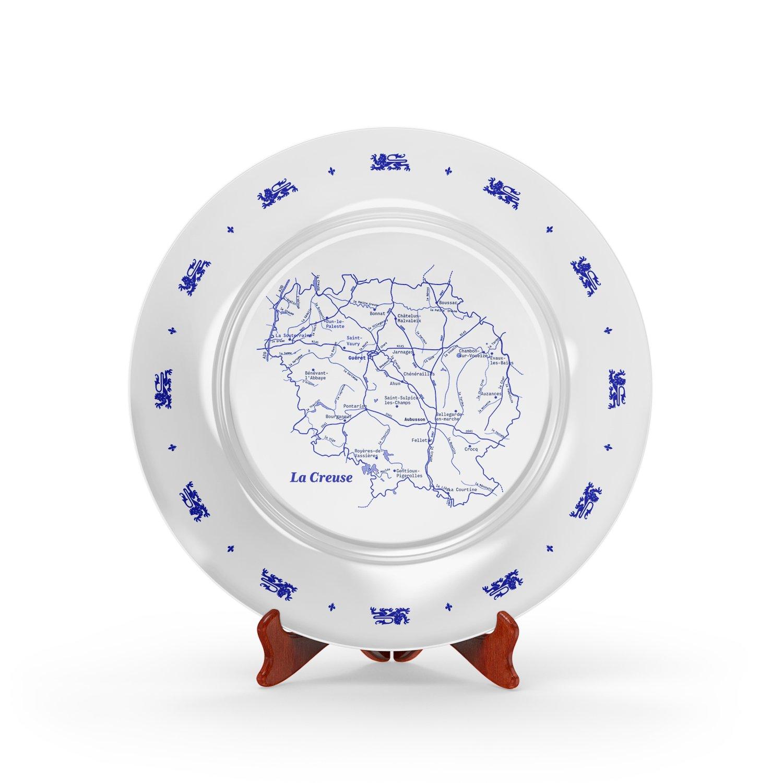 Image of <i>Assiette plate Creuse</i><br>Réf. SSTM-018-SS