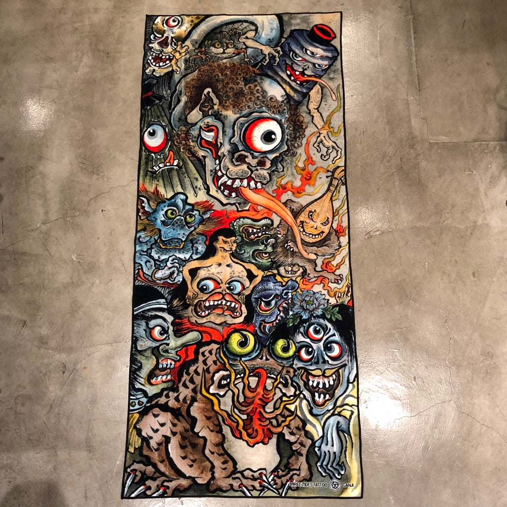 Image of GANJI YOKAI BATH TOWEL