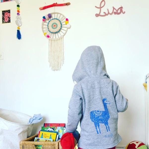 Image of Kids Hoodie *Lama*