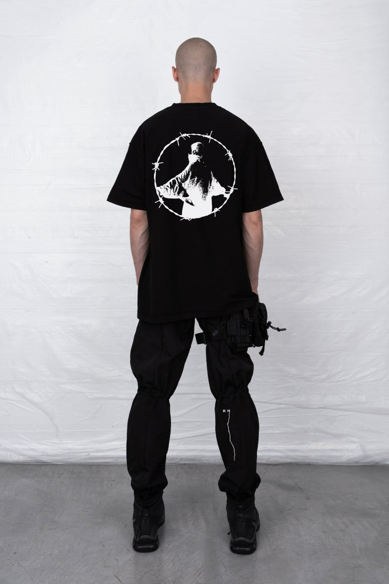 Image of BLACK OUTSIDER T-SHIRT