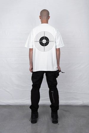 Image of WHITE GUN RANGE T-SHIRT