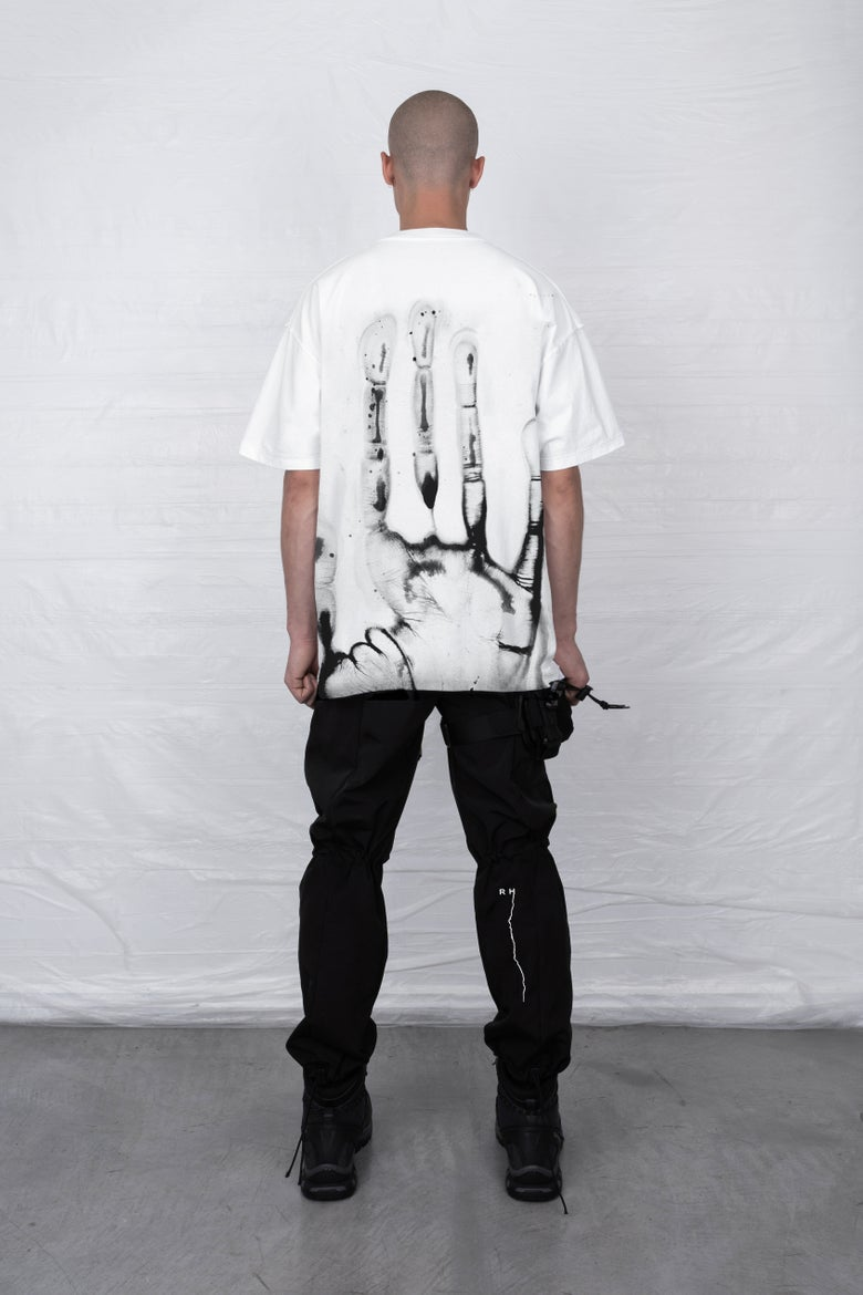 Image of WHITE HEREDITY T-SHIRT