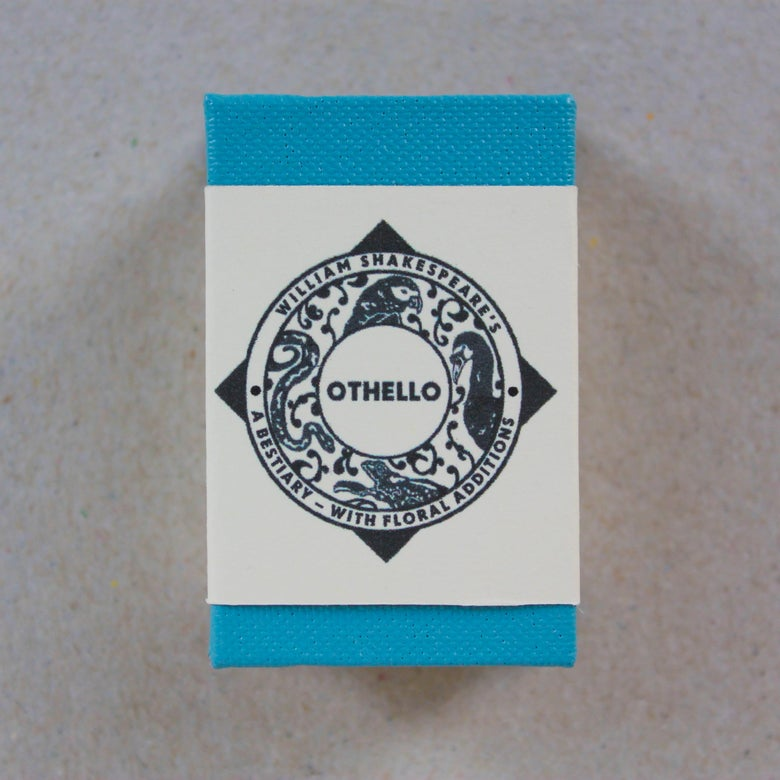 Image of Othello; A Bestiary (with floral additions) by Borbonesa