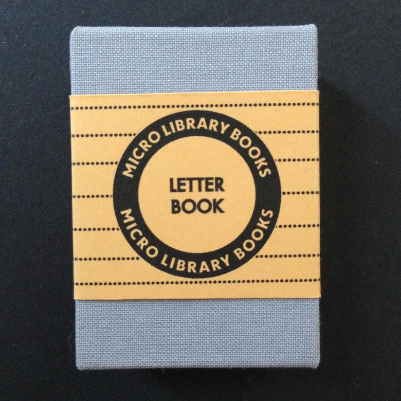 Image of Miniature Letter Book