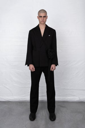 Image of BLACK RH BLAZER JACKET