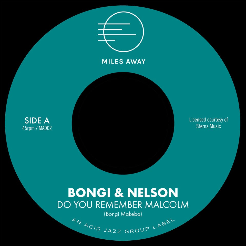 "Image of Bongi & Nelson ""Do You Remember Malcolm"" 7"""
