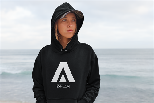 Image of ONLAP Δ Hoodie (Black)